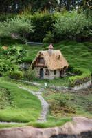 fairyhouse house cottage stock by oxygun