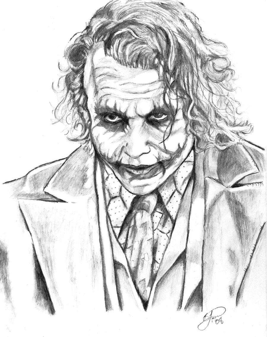 Joker by voodoodaddy19... Easy Gangster Joker Drawings