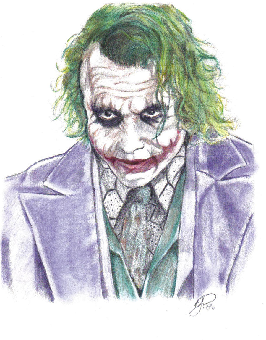 The Joker by voodoodaddy1975 on DeviantArt