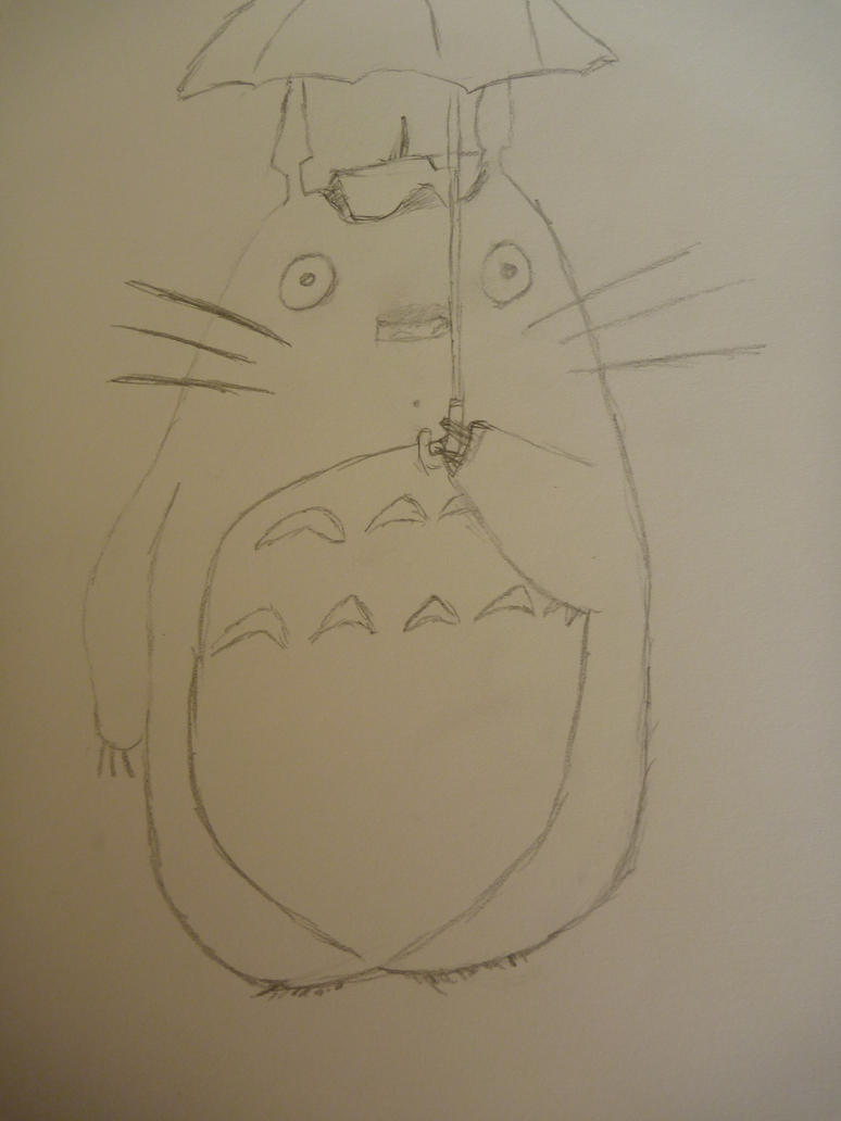 Totoro by overlordsif