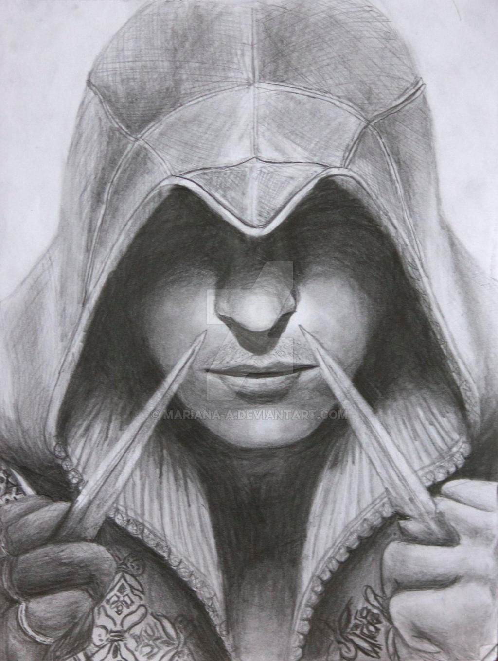 Ezio Auditore by mariana-a