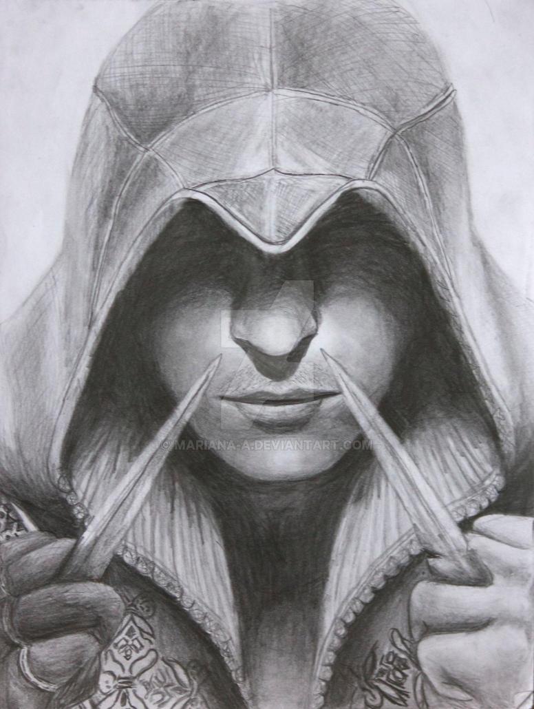Ezio Auditore by mariana-a