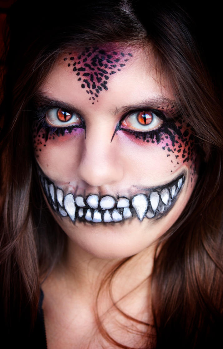 Evil Dragon Makeup by mariana-a