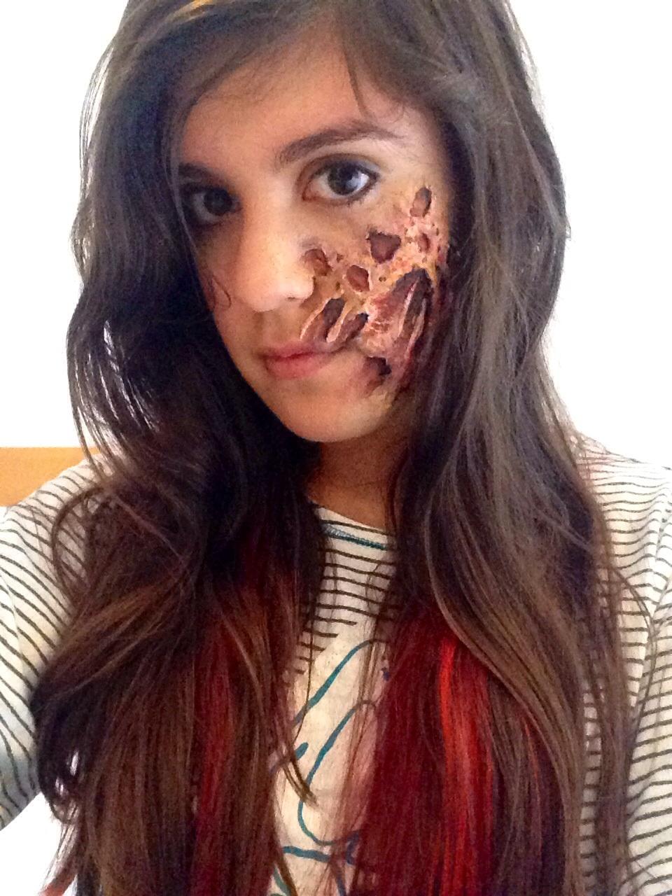 Deadpool Freddy Krueger Burnt Face By Mariana A On Deviantart