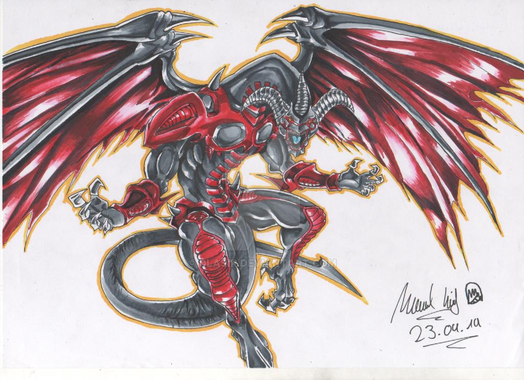 Red Dragon Archfiend by DlaSir