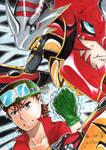 Digimon Frontier Fanart [Takuya]