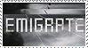 Emigrate Stamp by Eirurufu