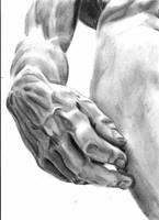 David's hand by JanaLenzova