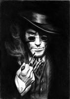 Sherlock Holmes by JanaLenzova