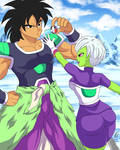 Broly and Cheelai