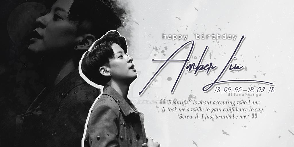 /18.09.18/ Happy Birthday Amber L by bouyn