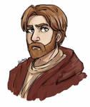 Obi-Wan Kenobi by Alezheia