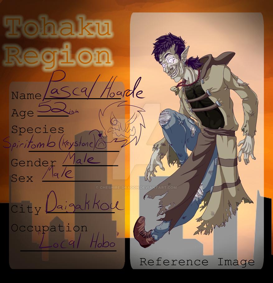 ::Tohaku Region:: Pascal Hoarde Application by cheshire-dragon