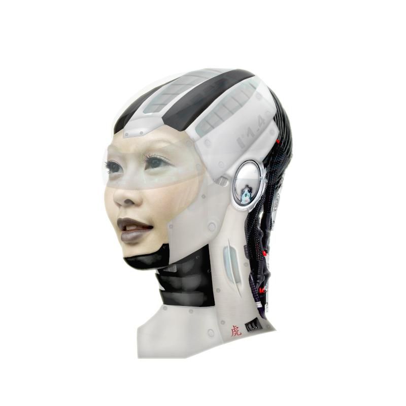 Cyborg Woman by ccdigitalart