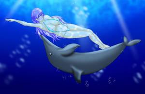 Dolphin Kick by DoctorH