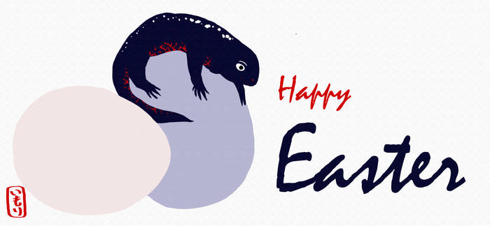 Crincle wishes a Happy Easter! - Imori Productions