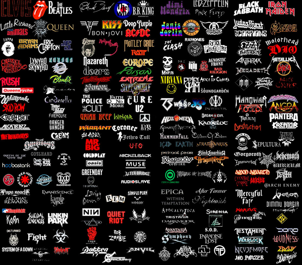rock band logos and names joy studio design gallery