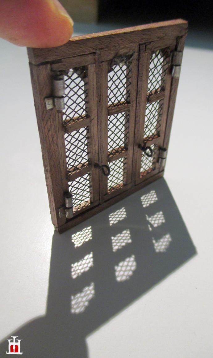 Wooden Window In Scale 1 50 By Wernerio On Deviantart