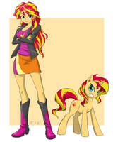 sunset shimmer by Ta-Na