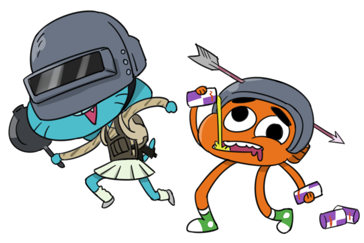 Pubg Gumball By Ta-Na On DeviantArt