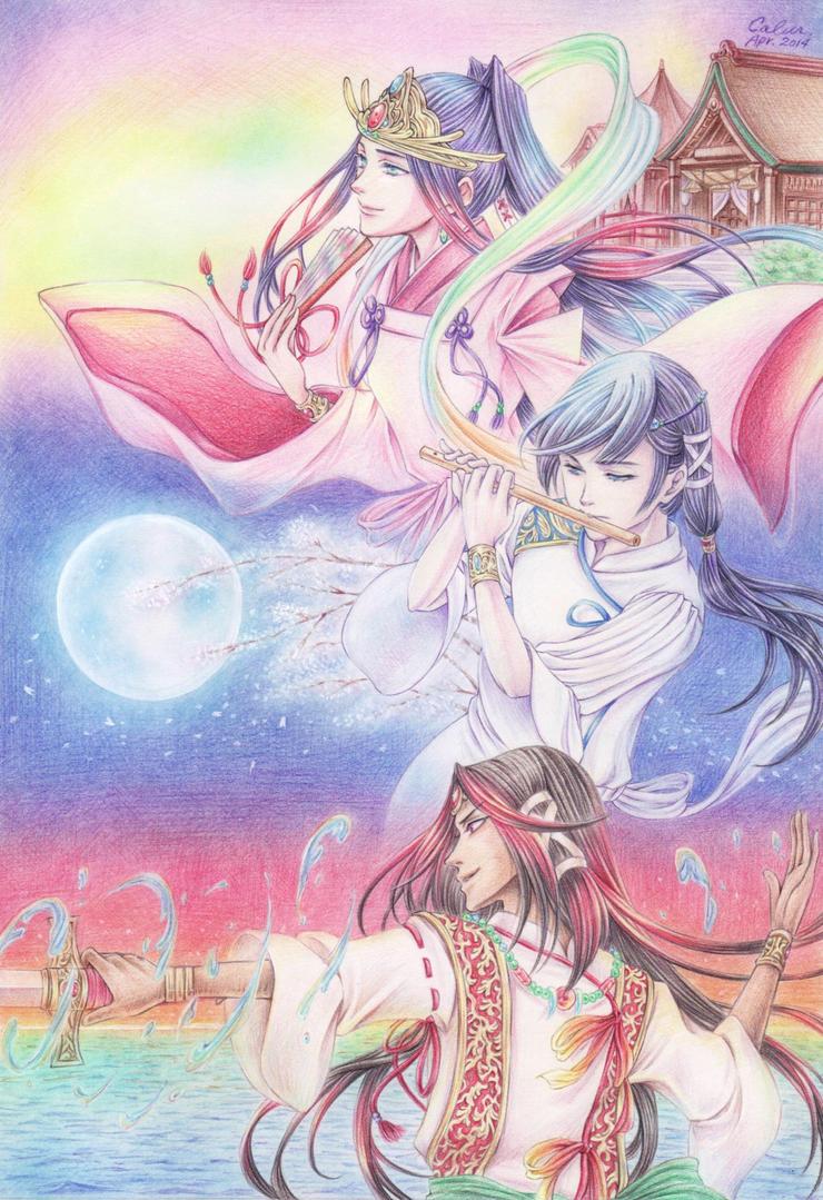 +Japanese Mythology 2+ by Calur