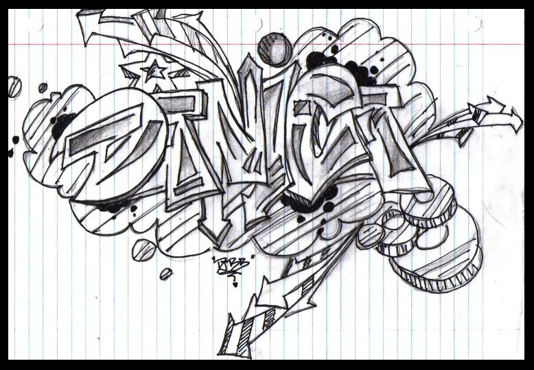 deviantART: More Like graffiti name:danica by 1mp3rf3ct
