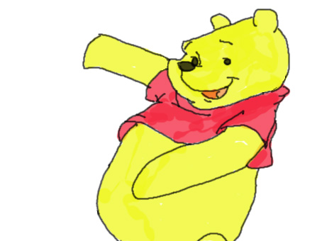 Pooh bear by hoults