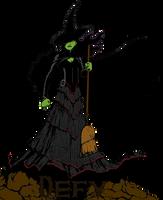 Wicked: Elphaba by JamieLeeShort