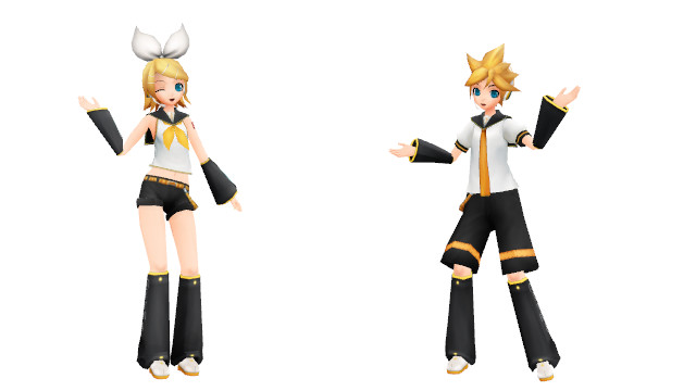 Project diva rin and len kagamine tester by xduchessbloodx on deviantart - Kagamine rin project diva ...