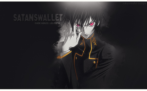 Signature Code Geass : Lelouch Black/White focused by Dutcheagle
