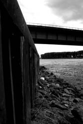 the bridge over the neckar by Sanyai90