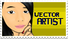 I'm a vector Artist stamp by InvaderMoesha