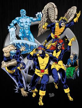 The Original X-Men (In color)