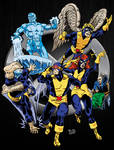 The Original X-Men (In color)