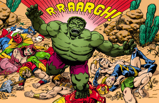The Hulk, Triumphant! 'Nuff said!