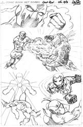 Ironman in Cold Run (Marvel submission Pt 1)