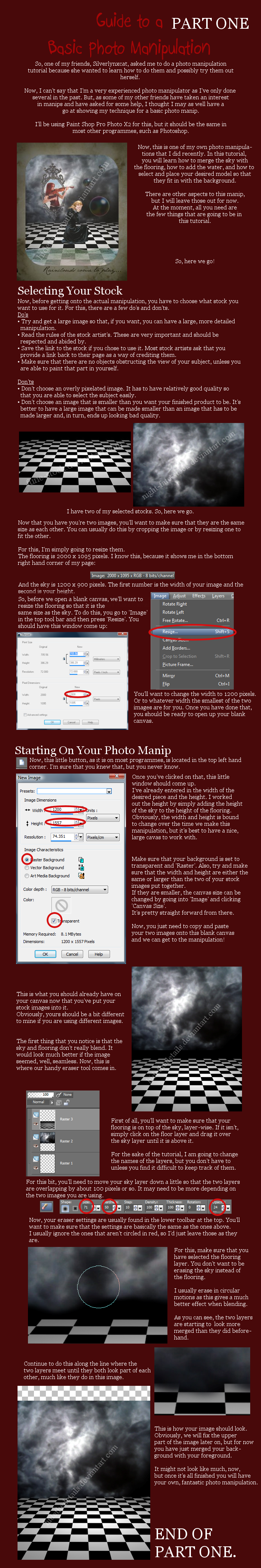 Basic Photo Manip Guide: Part1 by HideTheDetails