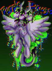 Purple Drugs (Eye strain warning) by fluttershy0159