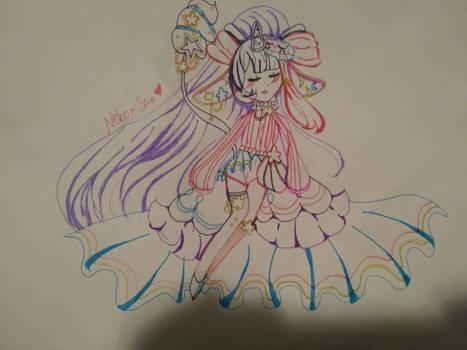 Vialtober day 2: Magical girl/boy