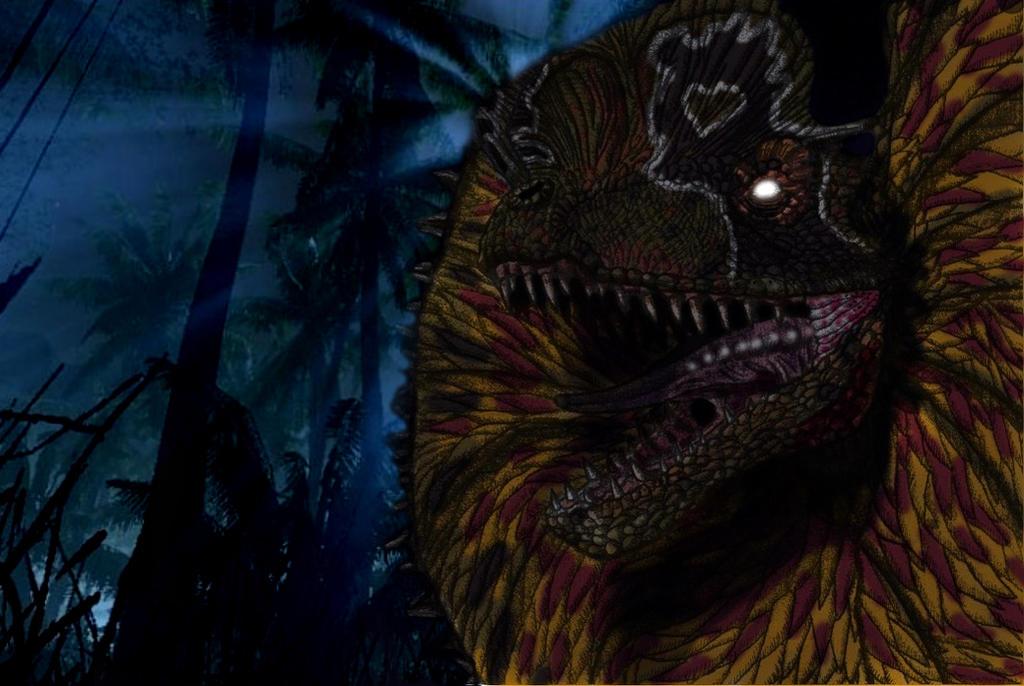 Jurassic Park Dilophosaurus By Yankeetrex On DeviantArt