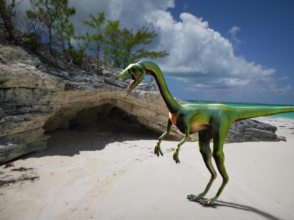 Jurassic Park Compy Keyshot by yankeetrex