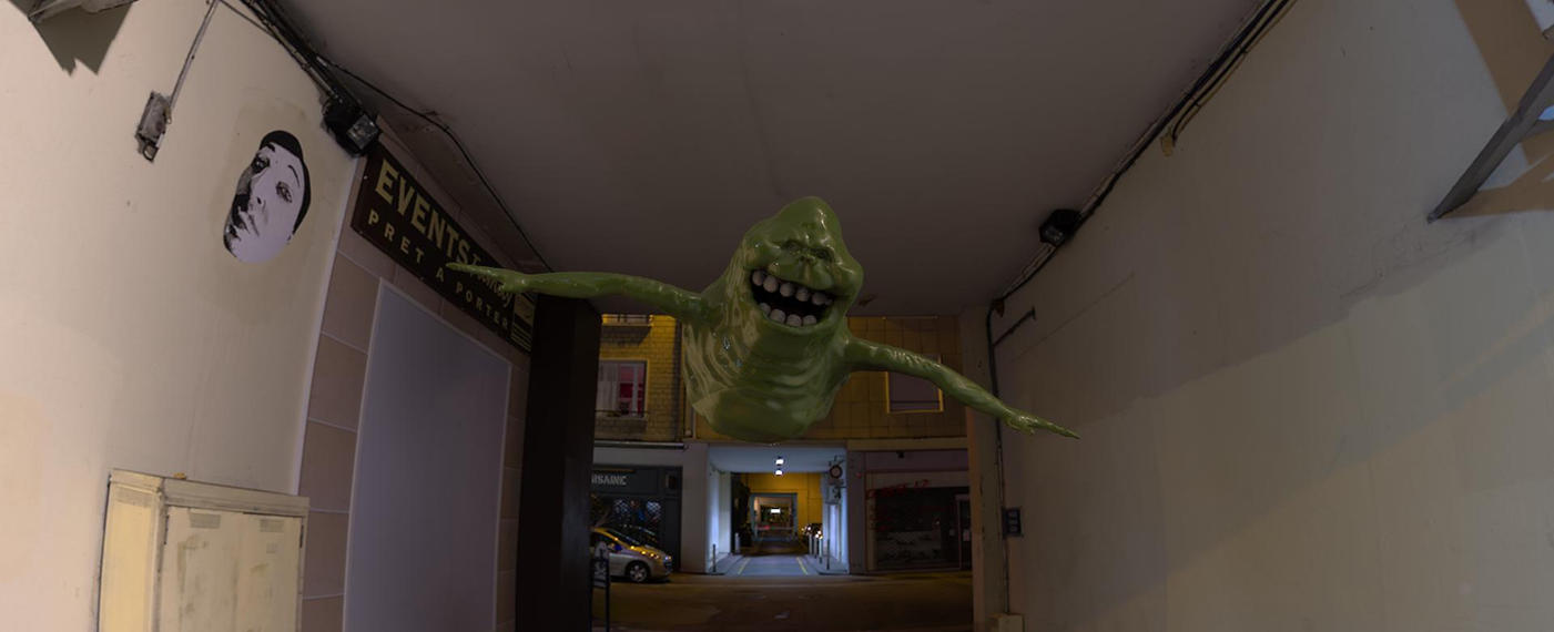 Slimer Coming for you by yankeetrex