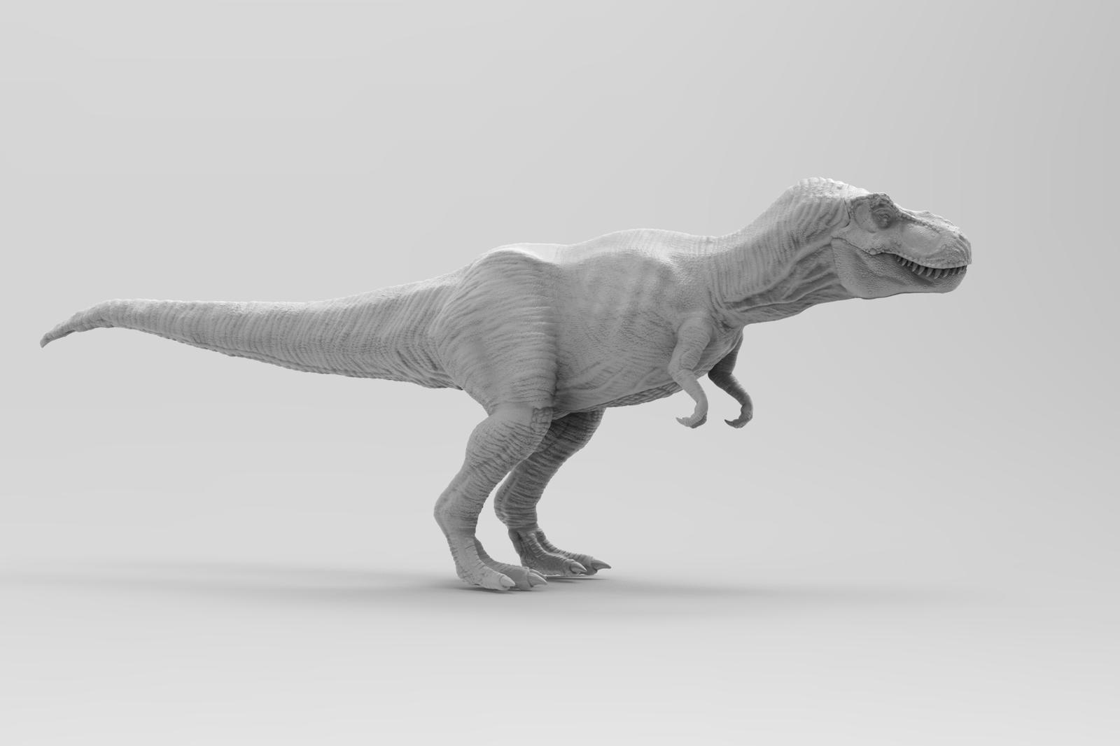 T Rex Side By Yankeetrex On Deviantart