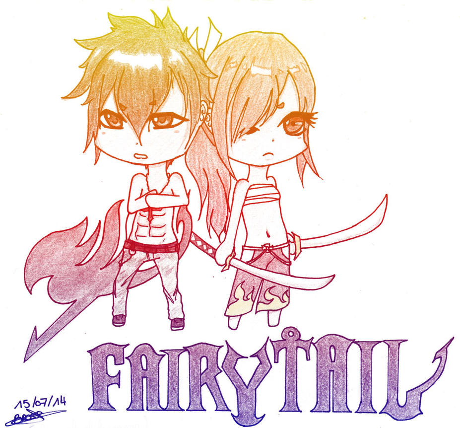 Fairy Tail chibi by Aikire