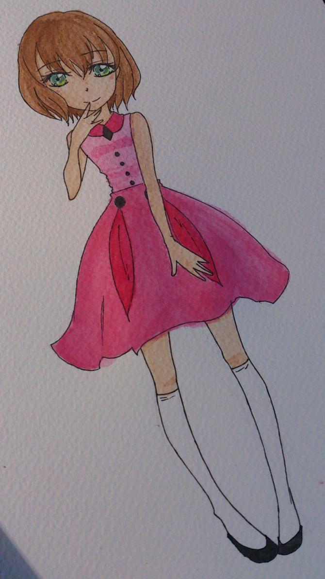 Watercolour training by Aikire