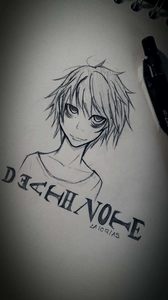 death note L by Aikire