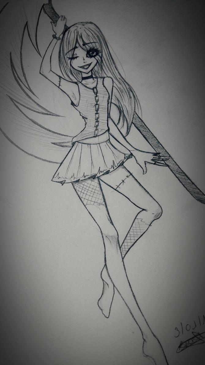 Shinigami by Aikire
