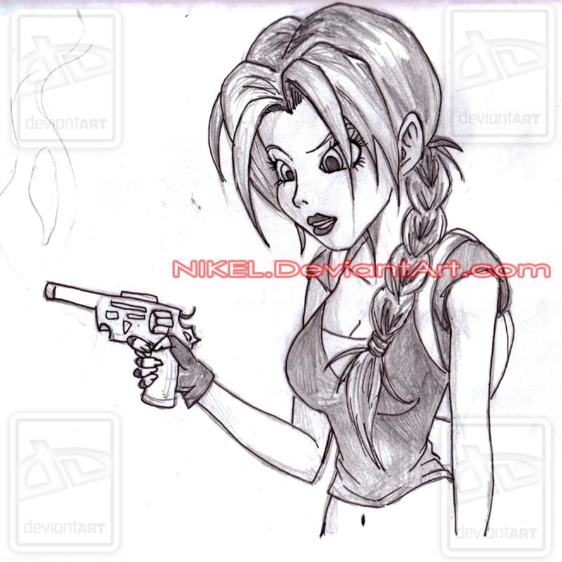 Lara Croft by NlKEL