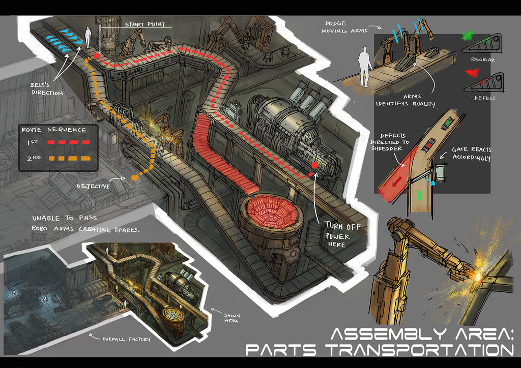 Level Design: Assembly Area 2 by yongs
