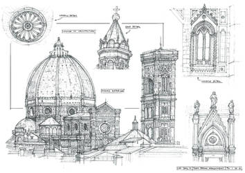Sketchbook Architecture 1 by yongs
